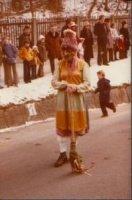 Seit Jahrzehnten Hexe bei den Schellenschlagern Moser Franz